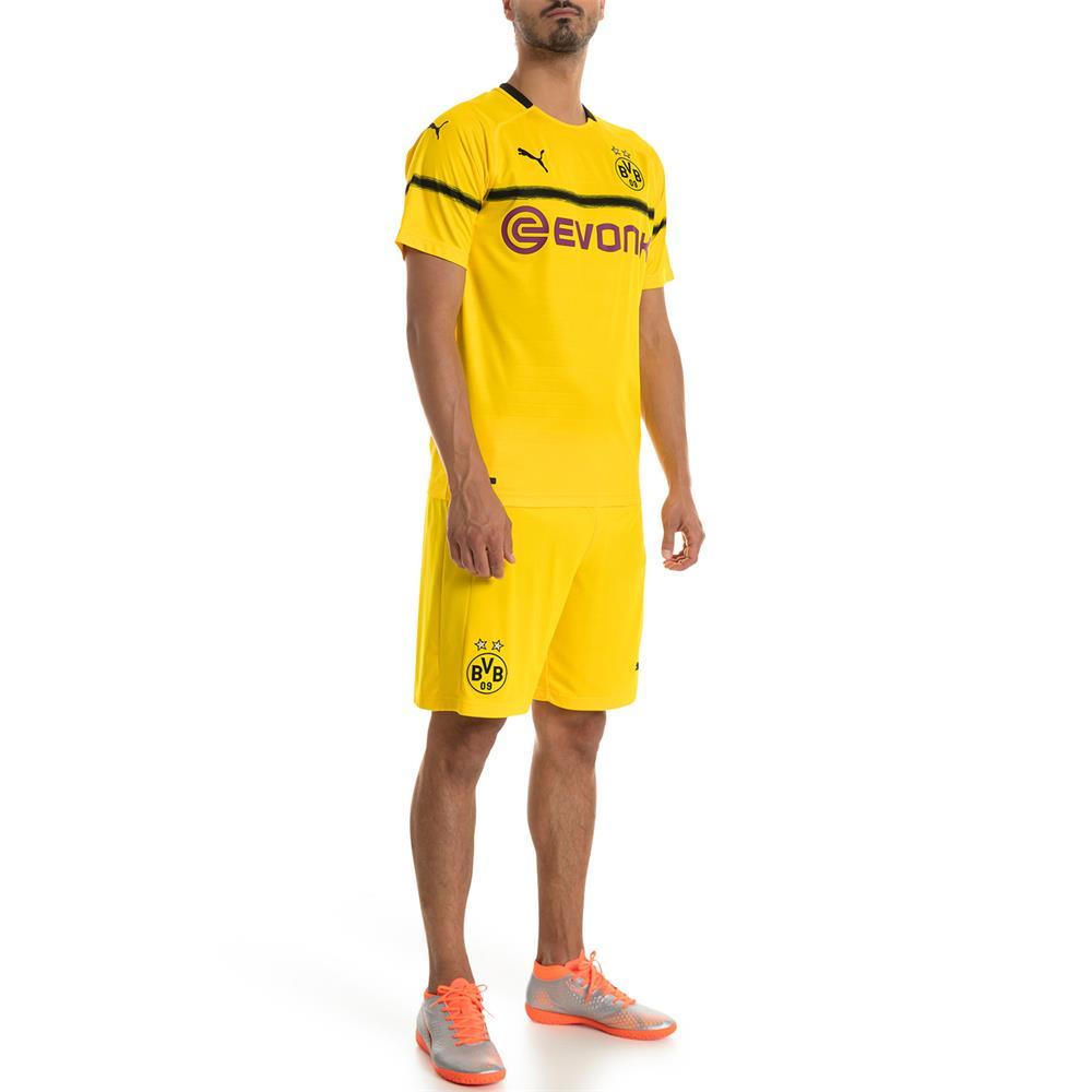 Indexbild 4 - Puma BVB Dortmund Home Replica Shorts Kurze Hose Trainingshose Sporthose 18/19