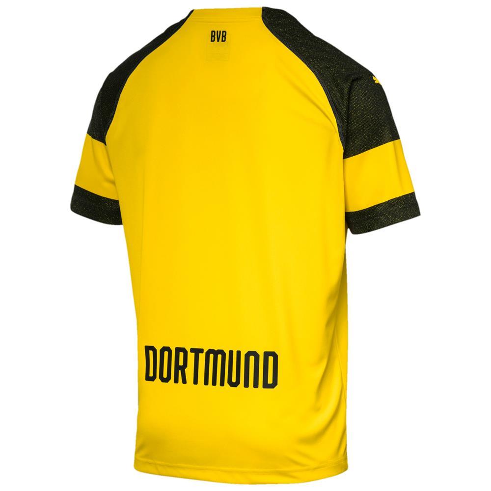 Puma-BVB-Borussia-Dortmund-Herren-Replica-Home-Trikot-Heimtrikot-Fussballtrikot Indexbild 3