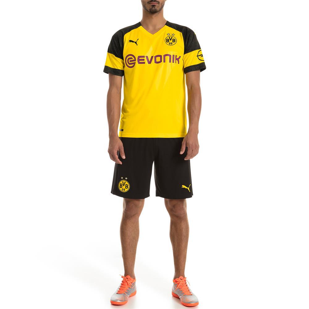 Puma-BVB-Borussia-Dortmund-Herren-Replica-Home-Trikot-Heimtrikot-Fussballtrikot Indexbild 6