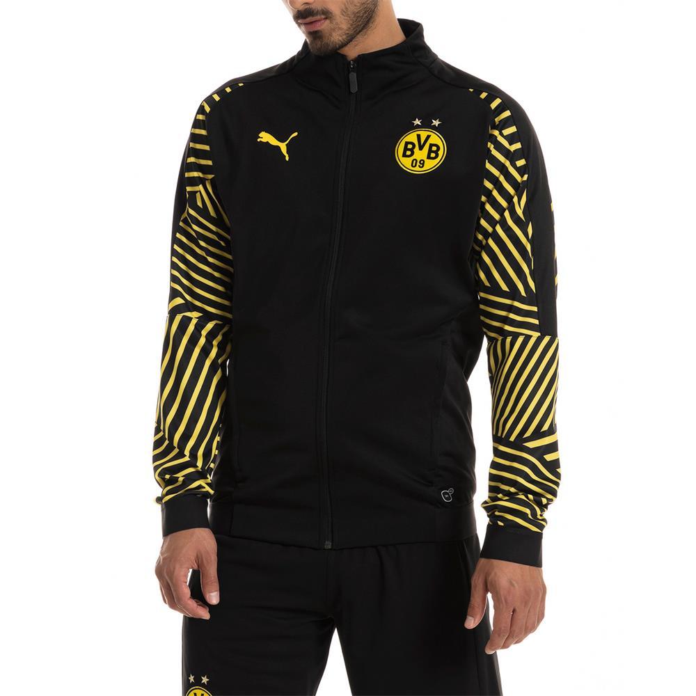Puma-BVB-Borussia-Dortmund-Herren-Stadium-Jacket-Stadionjacke-Jacke Indexbild 4