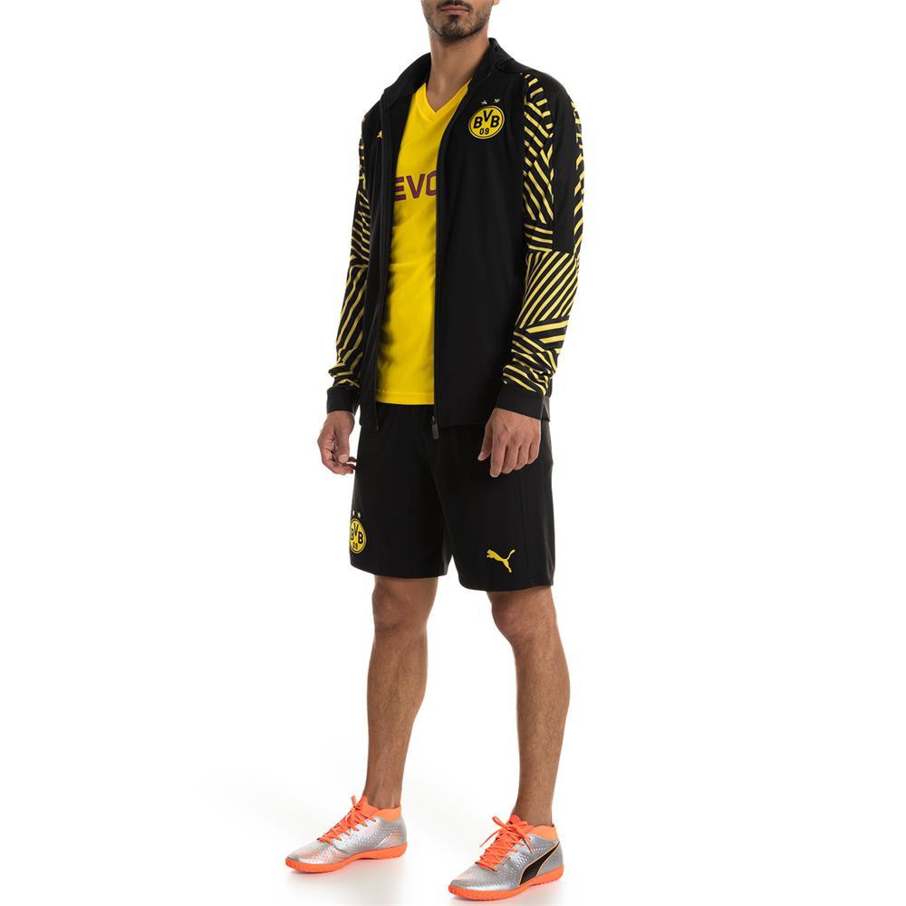 Puma-BVB-Borussia-Dortmund-Herren-Stadium-Jacket-Stadionjacke-Jacke Indexbild 6