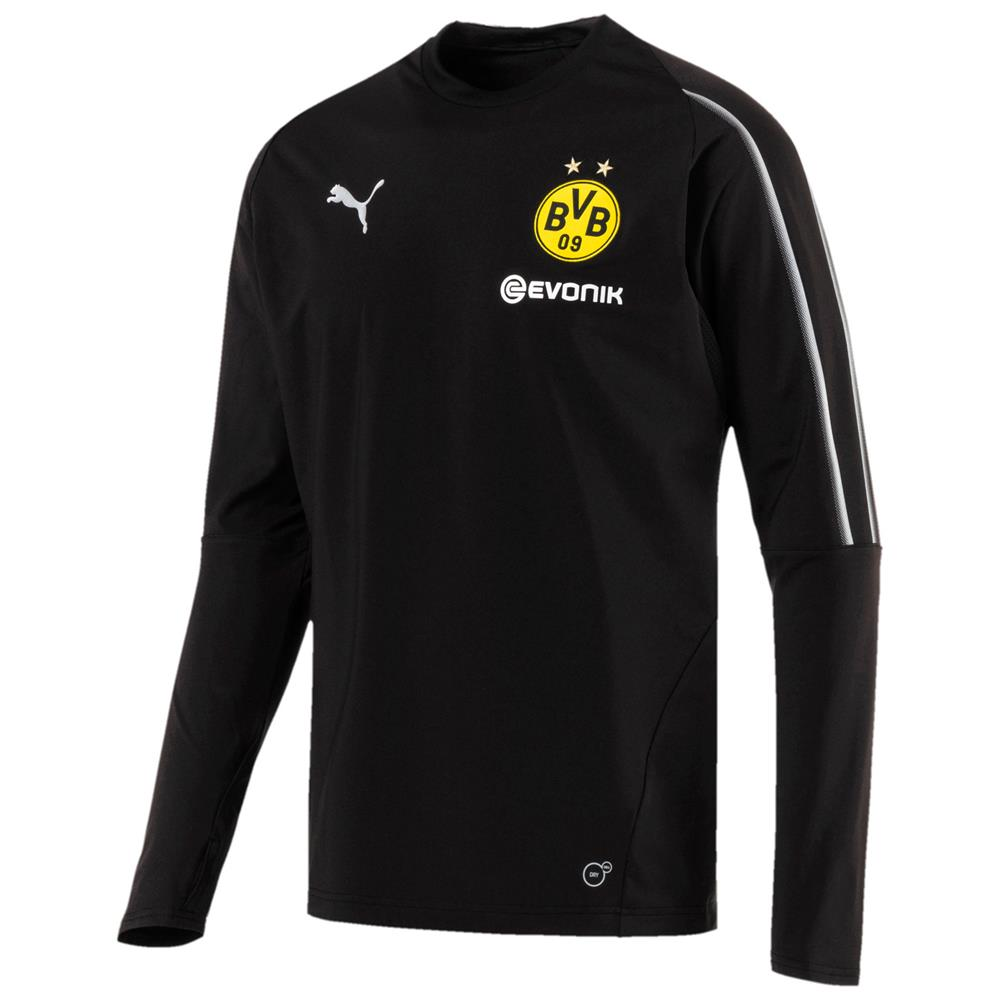 Indexbild 3 - Puma BVB Borussia Dortmund Herren Training Sweat Top Langarm Trikot