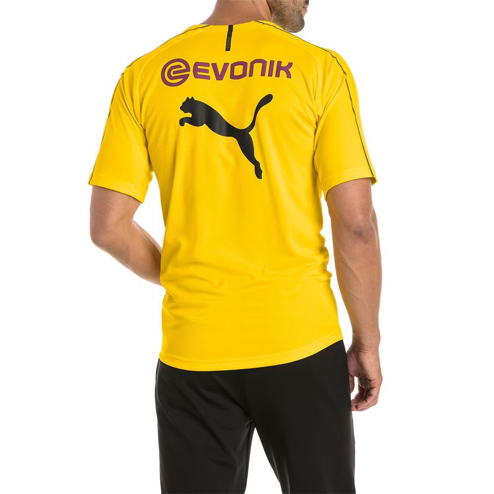Puma-BVB-Borussia-Dortmund-Herren-Training-Trikot-Jersey-Fan-Fussballtrikot Indexbild 5