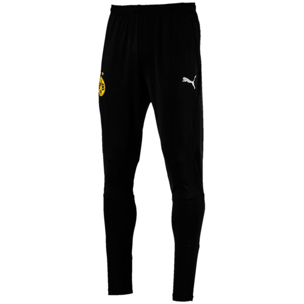 Puma-BVB-Borussia-Dortmund-Herren-Training-Pant-Trainingshose-Sporthose Indexbild 4