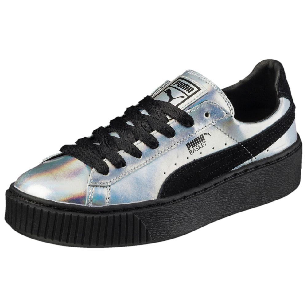Puma-Basket-Platform-Explosive-Damen-Sneaker-Schuhe-Turnschuhe-Freizeitschuhe Indexbild 3