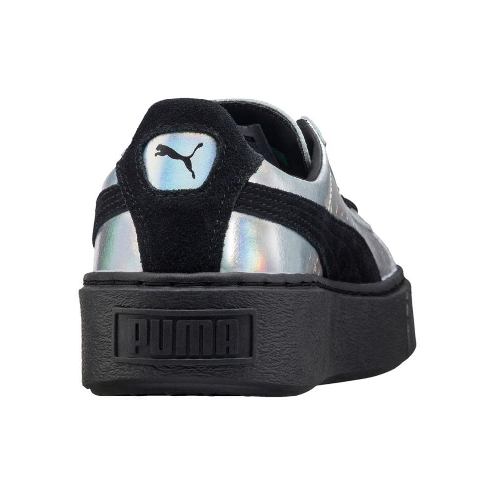 Puma-Basket-Platform-Explosive-Damen-Sneaker-Schuhe-Turnschuhe-Freizeitschuhe Indexbild 4