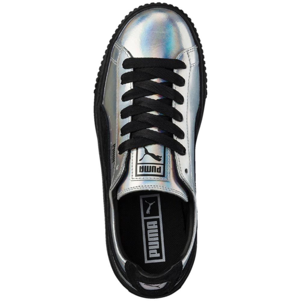Puma-Basket-Platform-Explosive-Damen-Sneaker-Schuhe-Turnschuhe-Freizeitschuhe Indexbild 6