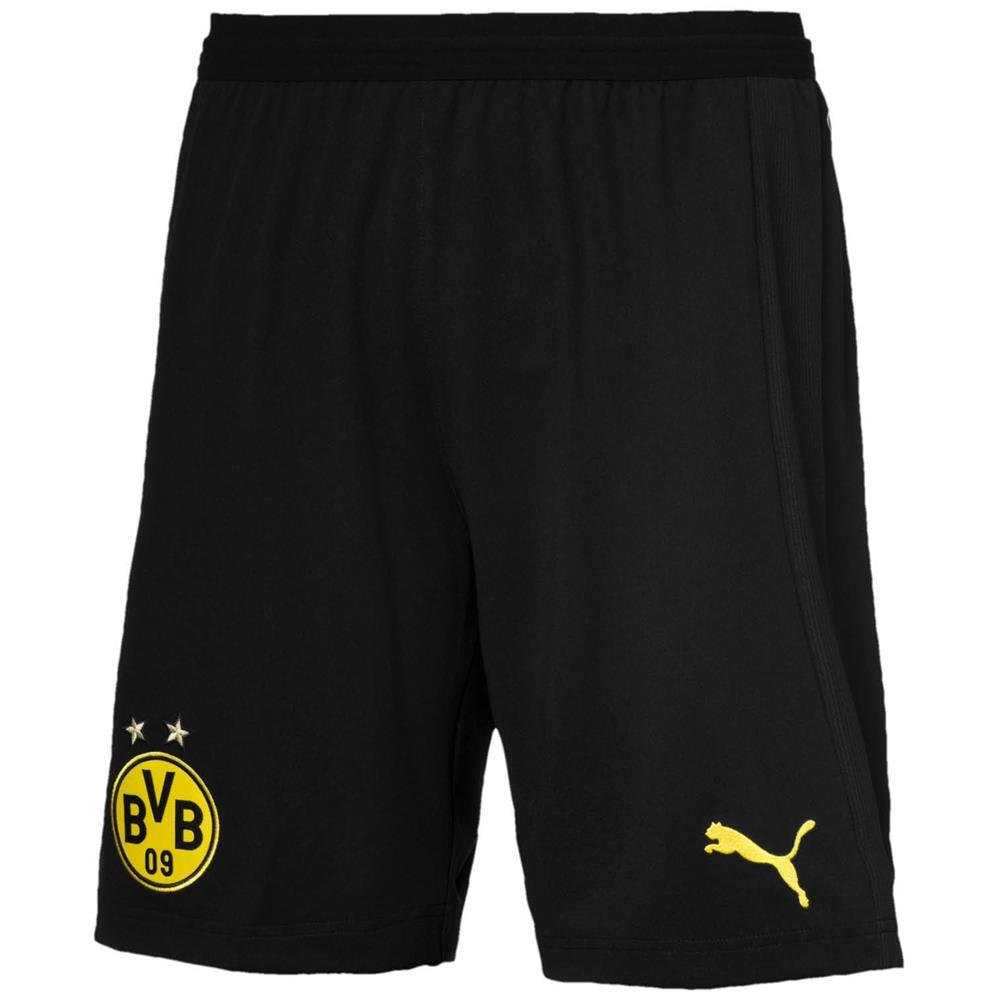 Indexbild 9 - Puma BVB Dortmund Home Replica Shorts Kurze Hose Trainingshose Sporthose 18/19
