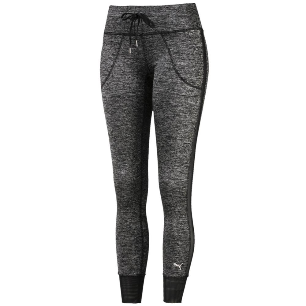 Puma-Explosive-Heather-7-8-Damen-Tights-Legging-Hose-Trainingshose-Sporthose Indexbild 4