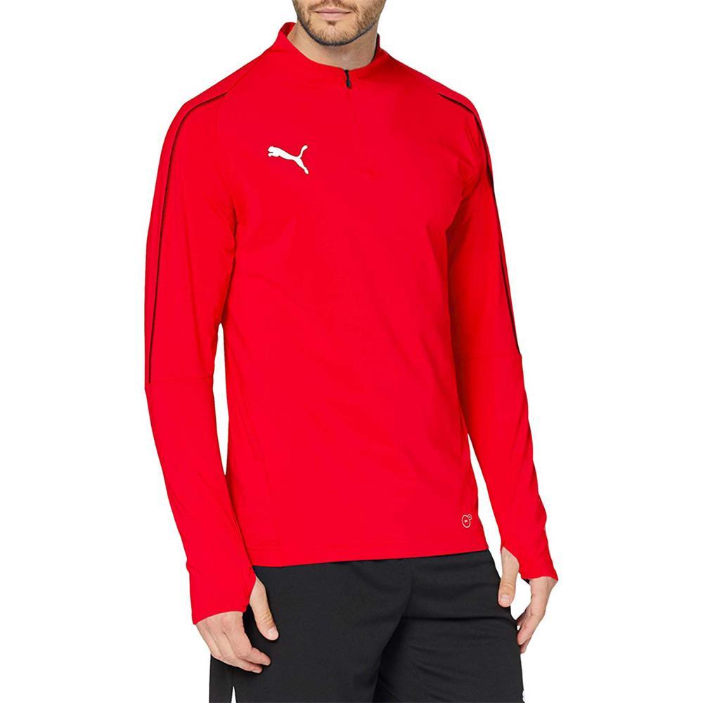 Indexbild 16 - PUMA BVB, FINAL 1/4 Zip Training Trainingsshirt Fußball FItness Langarm Shirt