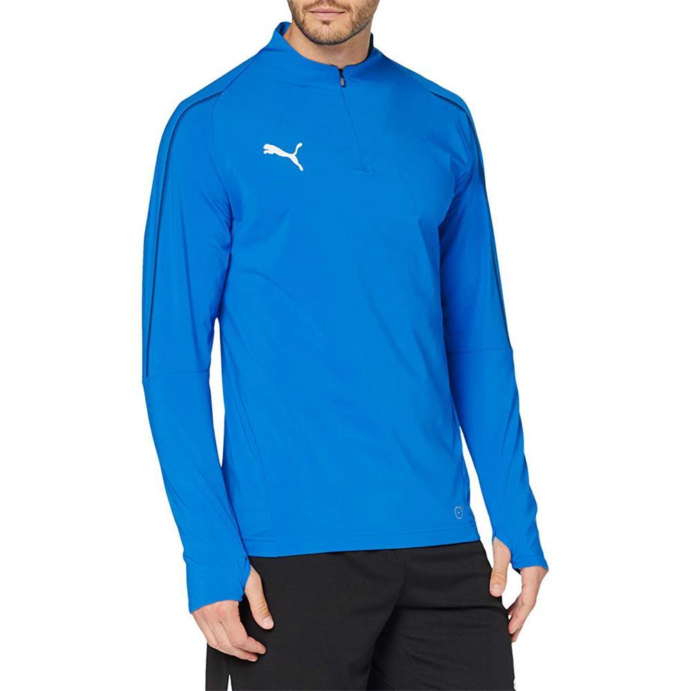 Indexbild 14 - PUMA BVB, FINAL 1/4 Zip Training Trainingsshirt Fußball FItness Langarm Shirt