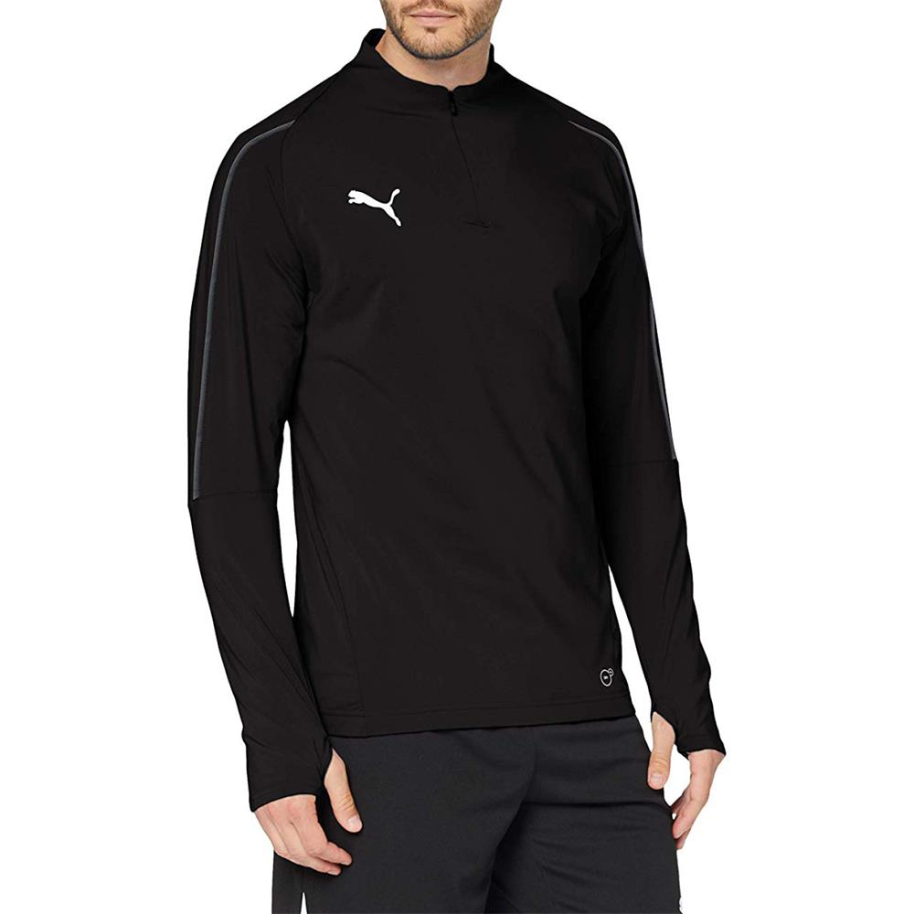 Indexbild 12 - PUMA BVB, FINAL 1/4 Zip Training Trainingsshirt Fußball FItness Langarm Shirt