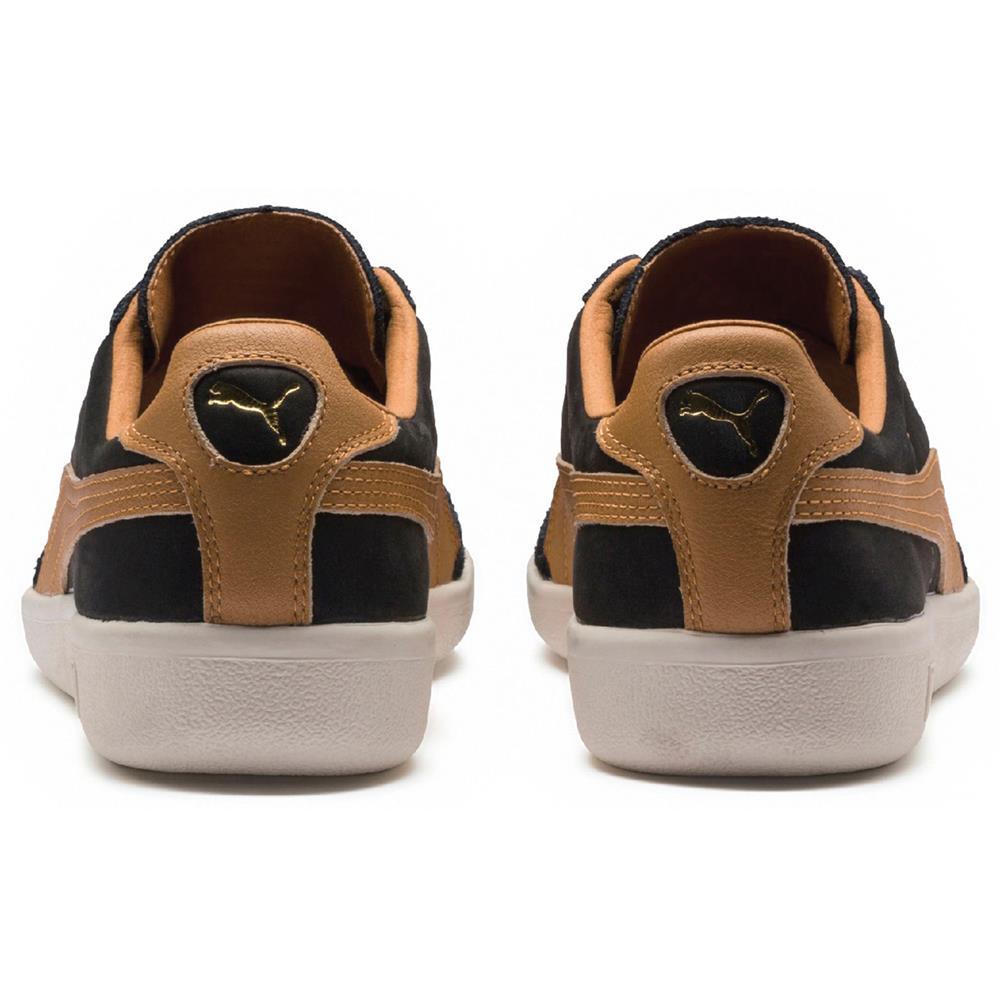 Puma-Madrid-Tanned-Herren-Sneaker-Leder-Schuhe-Turnschuhe-Sportschuhe Indexbild 9