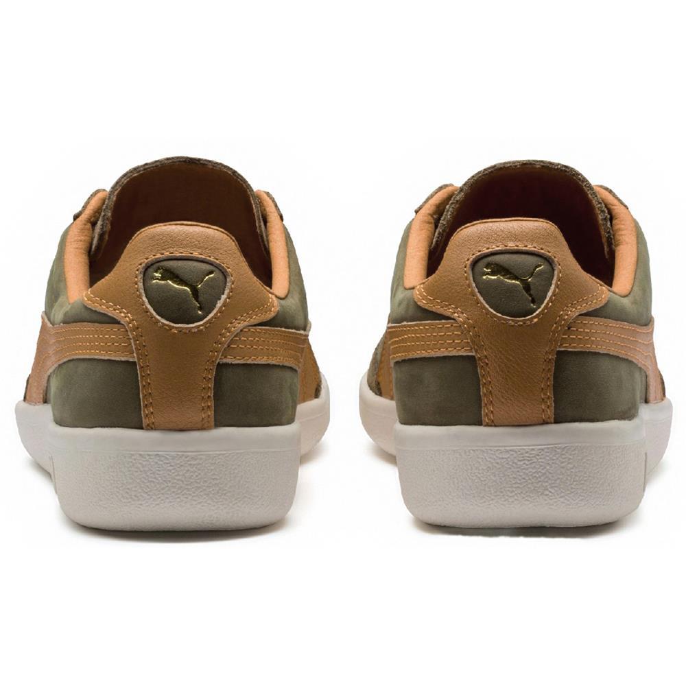 Puma-Madrid-Tanned-Herren-Sneaker-Leder-Schuhe-Turnschuhe-Sportschuhe Indexbild 14