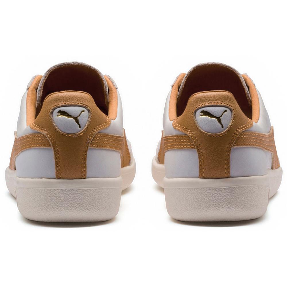 Puma-Madrid-Tanned-Herren-Sneaker-Leder-Schuhe-Turnschuhe-Sportschuhe Indexbild 4