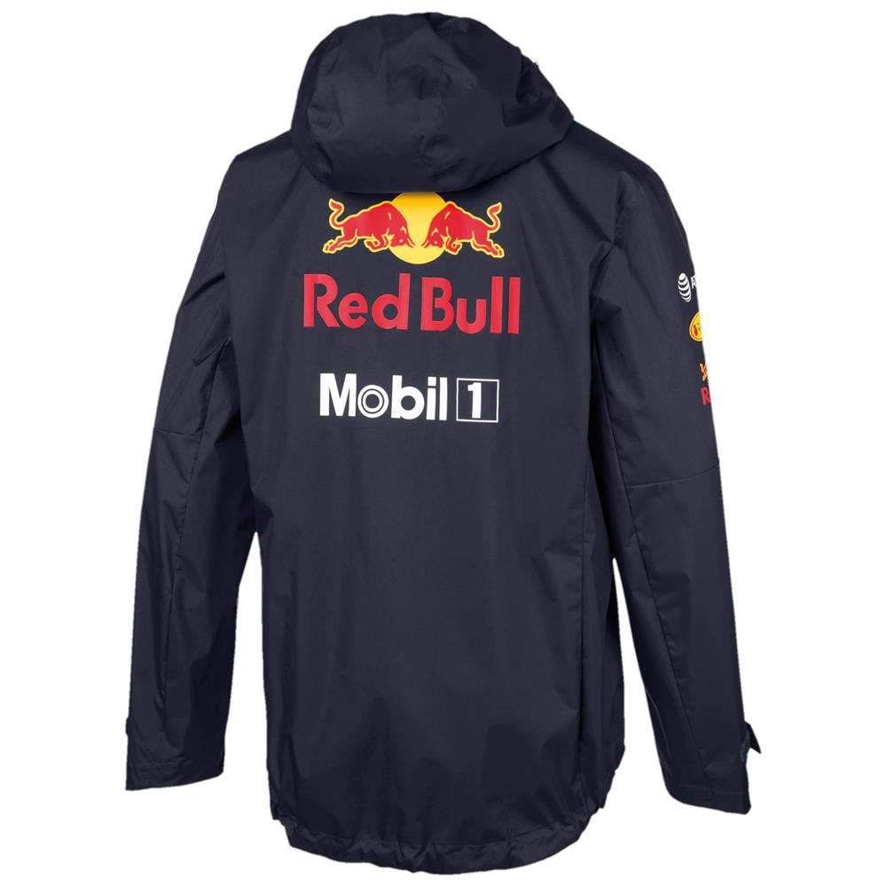 Indexbild 3 - Puma Red Bull Racing Team Jacke F1 Herren Kapuzenjacke Regenjacke Formel 1