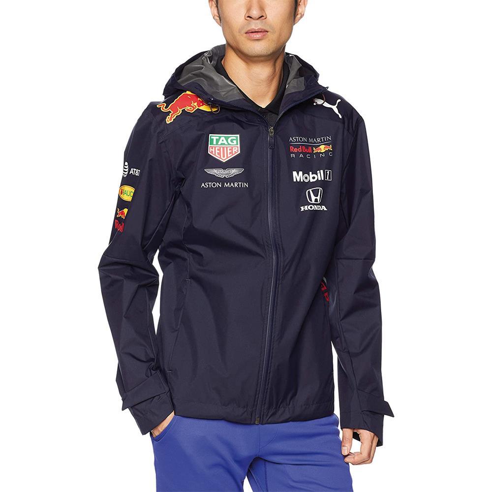 Indexbild 5 - Puma Red Bull Racing Team Jacke F1 Herren Kapuzenjacke Regenjacke Formel 1