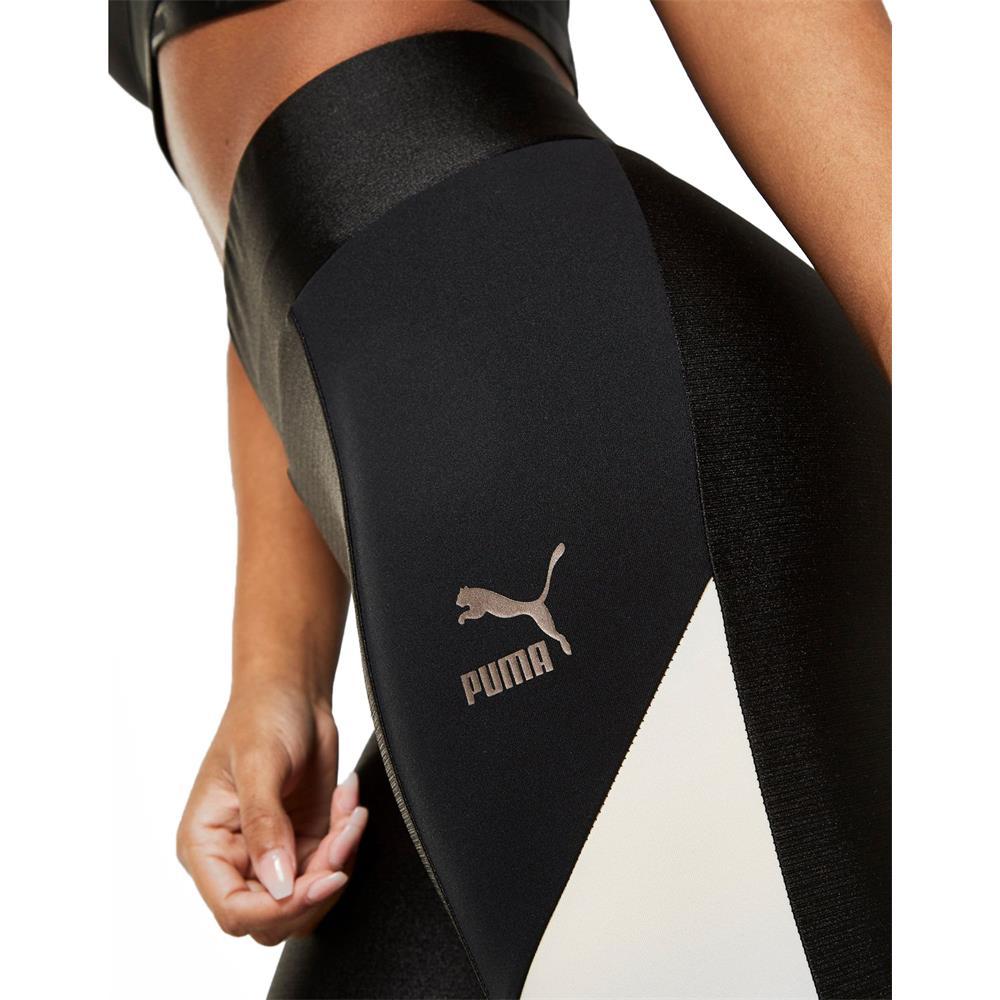 Puma-Retro-Legging-Damen-Tights-Hose-Jogginghose-Trainingshose-Sporthose Indexbild 4