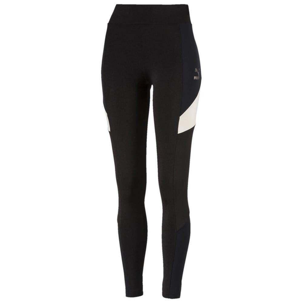Puma-Retro-Legging-Damen-Tights-Hose-Jogginghose-Trainingshose-Sporthose Indexbild 5