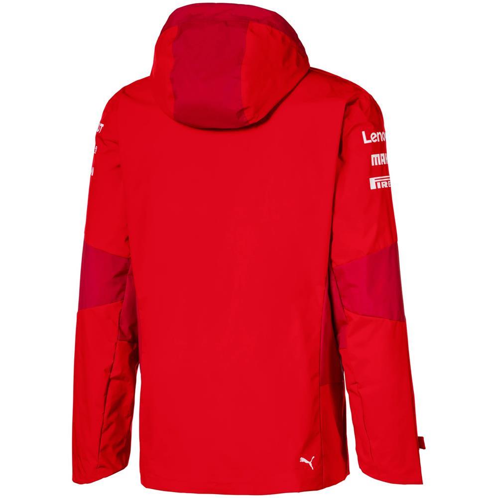 Puma-Scuderia-Ferrari-Team-Jacke-SF-F1-Herren-Kapuzenjacke-Official-Formel-1 Indexbild 3