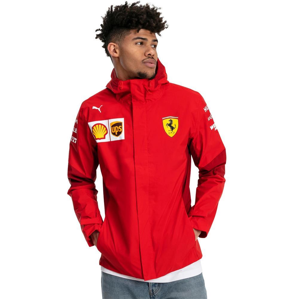 Puma-Scuderia-Ferrari-Team-Jacke-SF-F1-Herren-Kapuzenjacke-Official-Formel-1 Indexbild 4