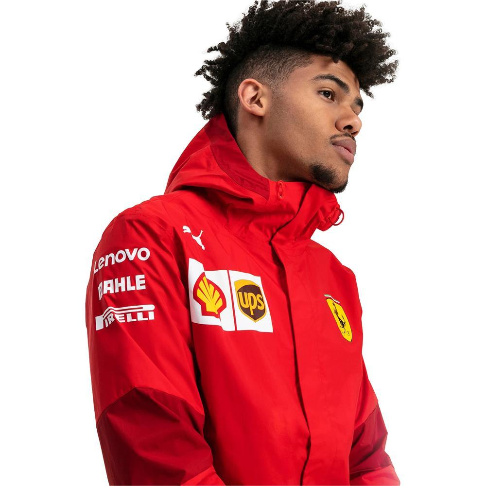 Puma-Scuderia-Ferrari-Team-Jacke-SF-F1-Herren-Kapuzenjacke-Official-Formel-1 Indexbild 7