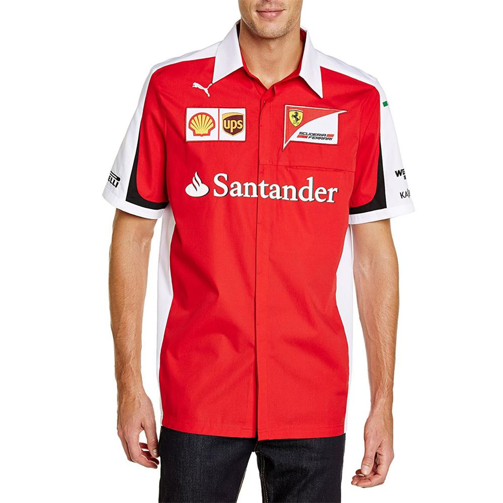 s scuderia formula ferrari sew amazon mens large com shirt cut men and red polo dp