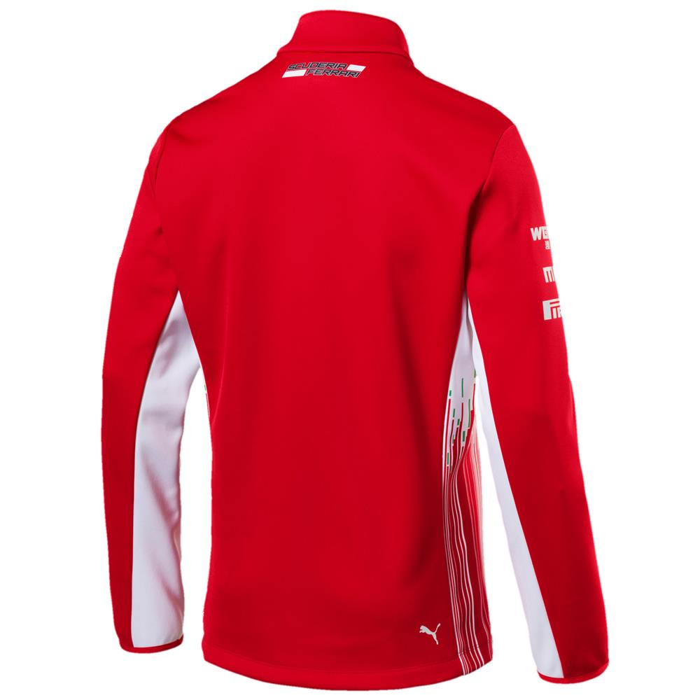 Puma-SF-Team-Softshell-Jacke-Scuderia-Ferrari-Official-F1-Softshelljacke-762366 Indexbild 3