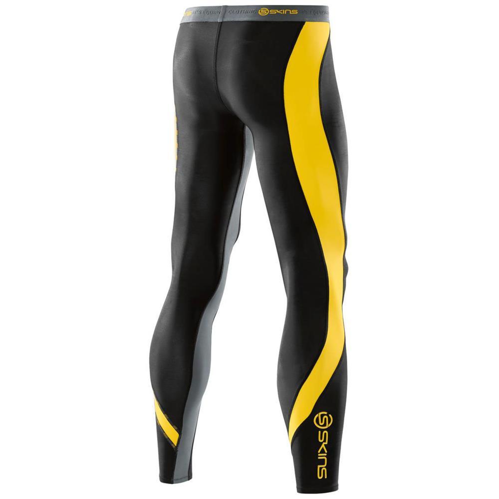 b81af1bf46 Skins DNAamic compression long tights men's training pants running ...