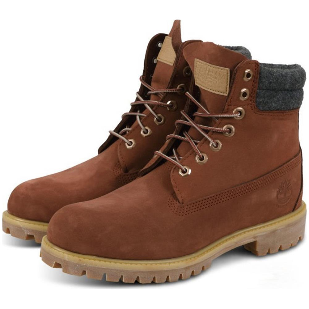 Timberland-6-Inch-Premium-Double-Collar-Boots-Schuhe-Outdoor-Stiefel-Winterstief Indexbild 4