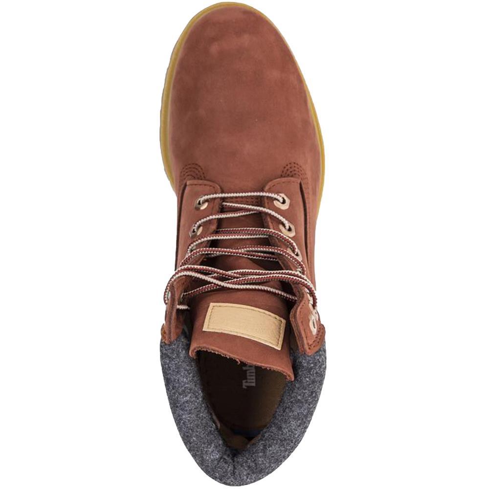 Timberland-6-Inch-Premium-Double-Collar-Boots-Schuhe-Outdoor-Stiefel-Winterstief Indexbild 5