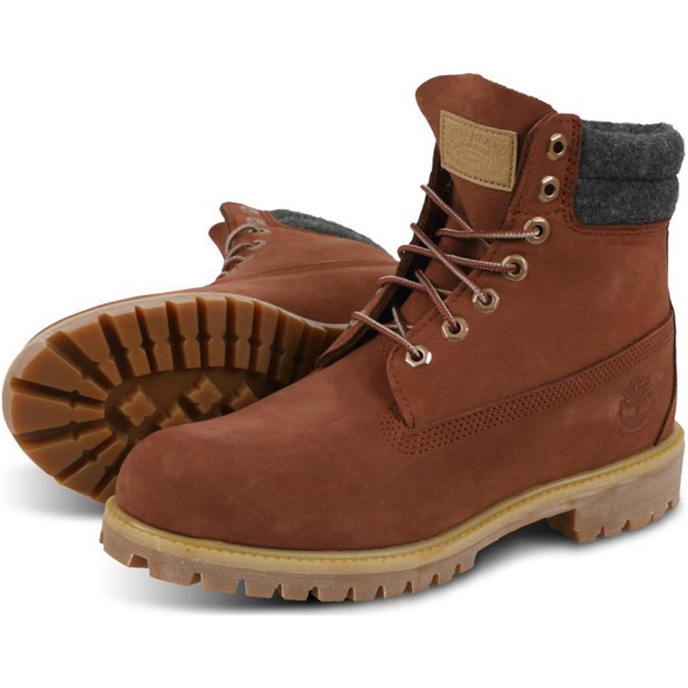 Timberland-6-Inch-Premium-Double-Collar-Boots-Schuhe-Outdoor-Stiefel-Winterstief Indexbild 6