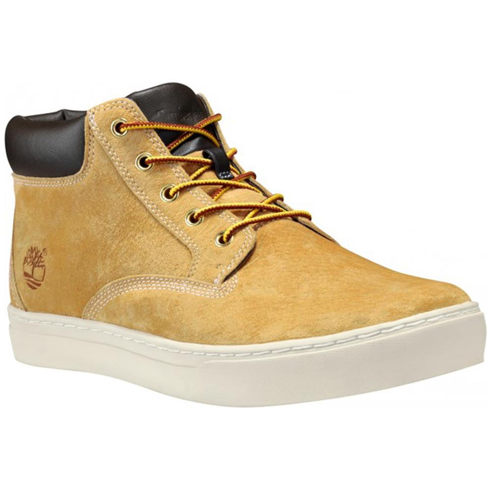 timberland dauset chukka herren leder schuhe hi top sneaker boots ebay. Black Bedroom Furniture Sets. Home Design Ideas