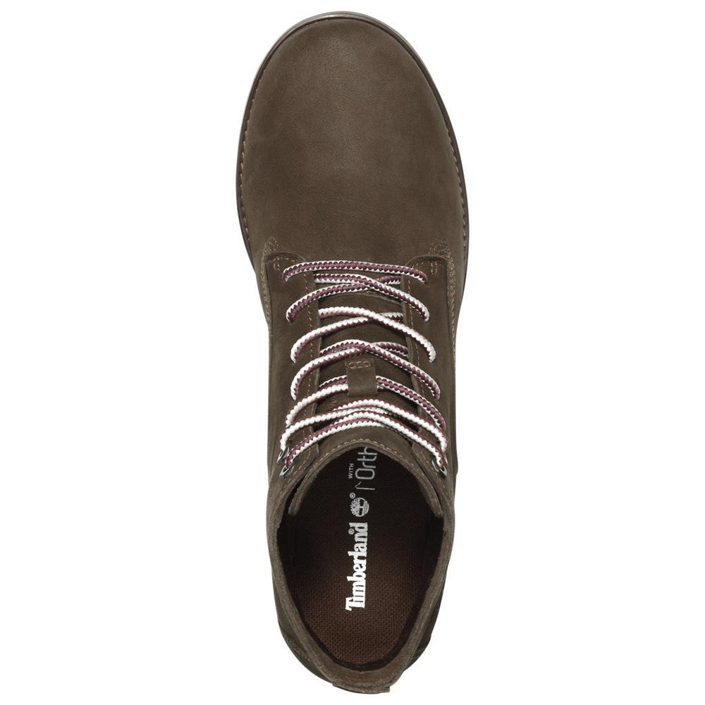 Timberland-Joslin-Chukka-Boots-Damen-Leder-Stiefel-Schuhe-Stiefeletten Indexbild 5