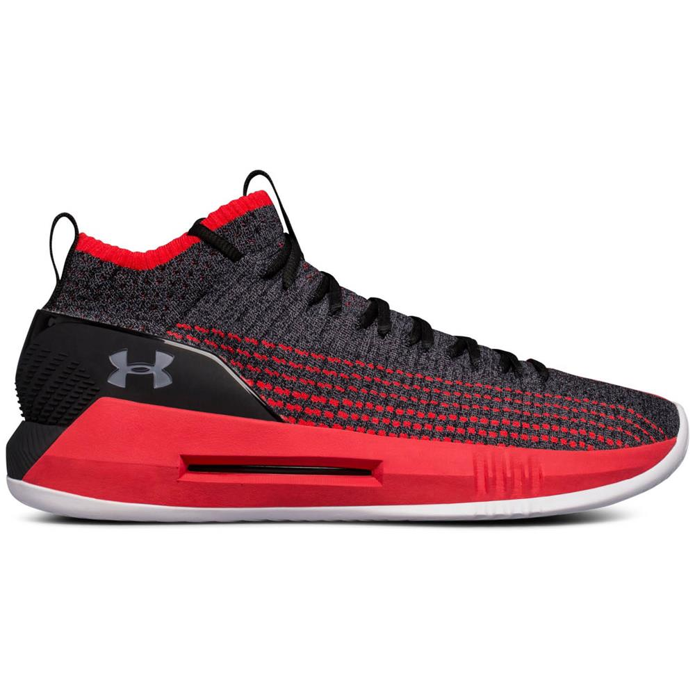 Under-Armour-Heat-Seeker-Herren-Basketballschuhe-Schuhe-Hi-Top-Sportschuhe Indexbild 13