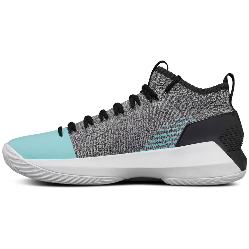 Under-Armour-Heat-Seeker-Herren-Basketballschuhe-Schuhe-Hi-Top-Sportschuhe Indexbild 19