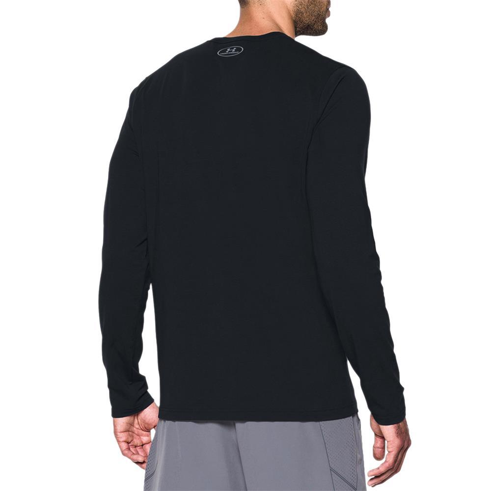 Under-Armour-UA-Sportstyle-Left-Chest-LS-Tee-Top-Langarmshirt-Fitness-Longsleeve Indexbild 9