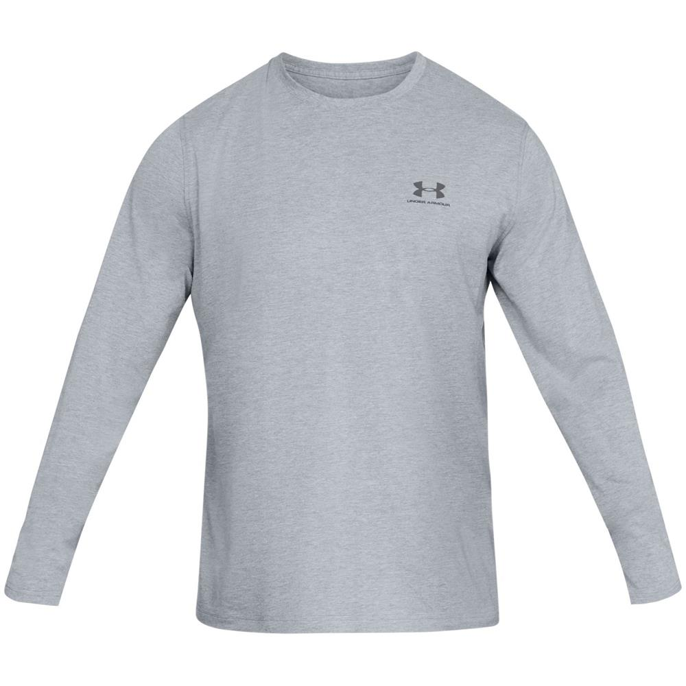 Under-Armour-UA-Sportstyle-Left-Chest-LS-Tee-Top-Langarmshirt-Fitness-Longsleeve Indexbild 5