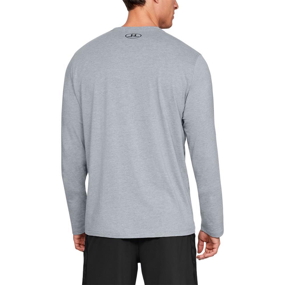 Under-Armour-UA-Sportstyle-Left-Chest-LS-Tee-Top-Langarmshirt-Fitness-Longsleeve Indexbild 3