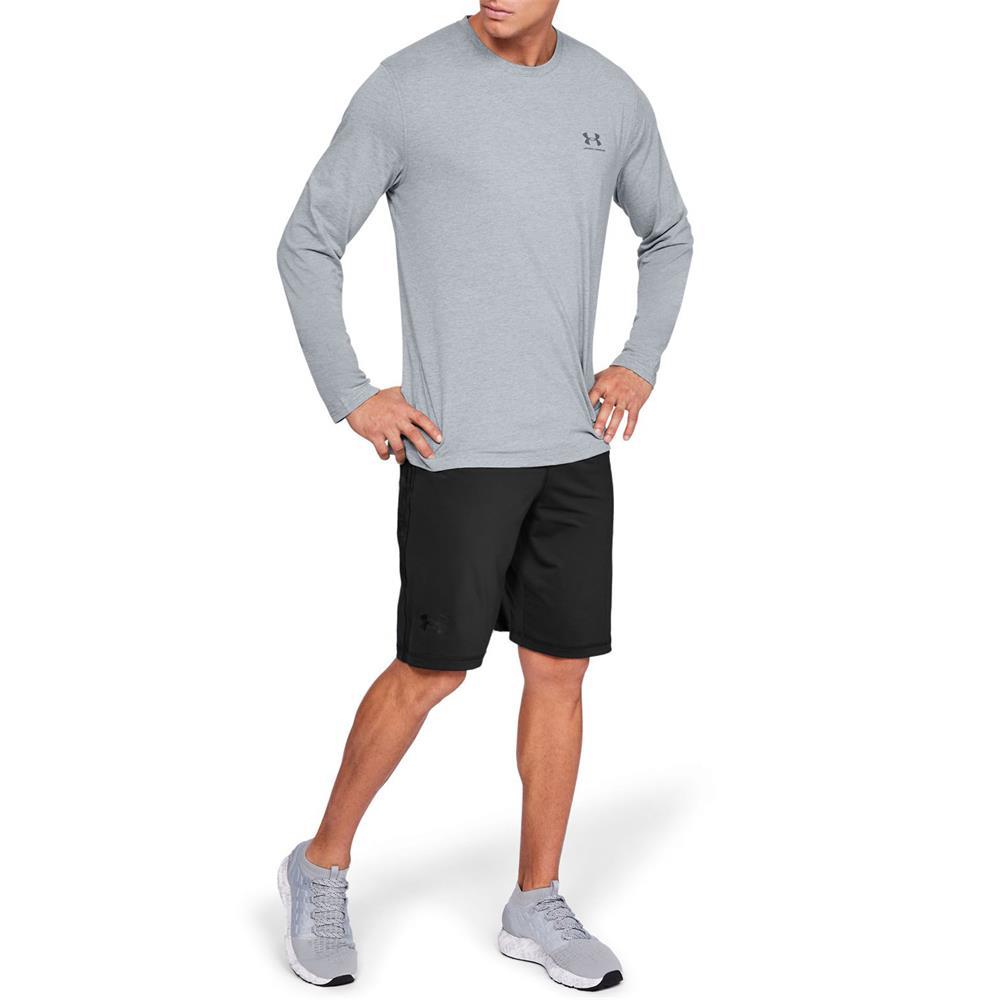 Under-Armour-UA-Sportstyle-Left-Chest-LS-Tee-Top-Langarmshirt-Fitness-Longsleeve Indexbild 4