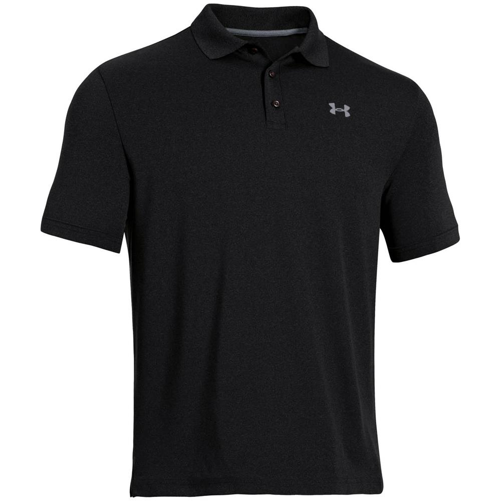 Under-Armour-UA-Performance-HeatGear-Herren-Poloshirt-Polo-Shirt-Hemd Indexbild 4