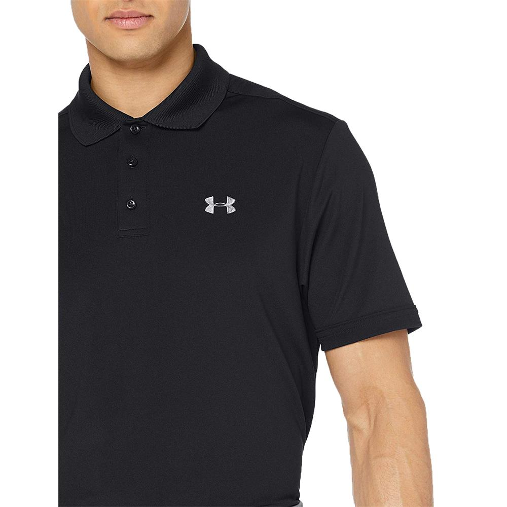Under-Armour-UA-Performance-HeatGear-Herren-Poloshirt-Polo-Shirt-Hemd Indexbild 3