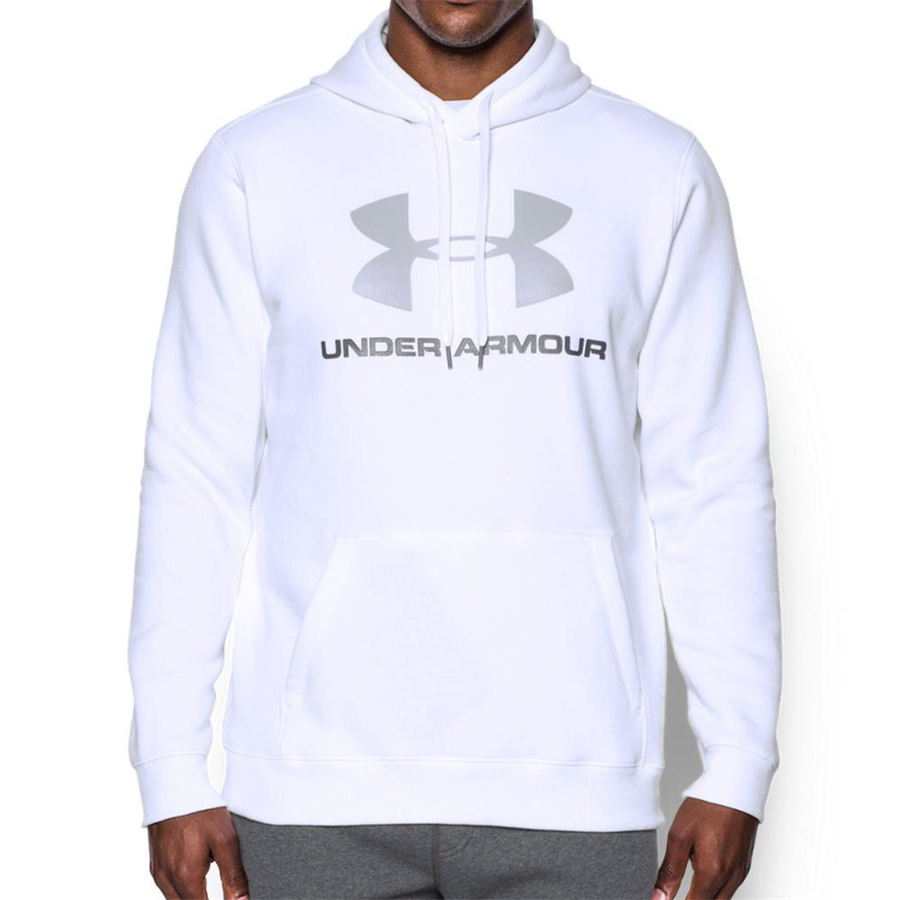 Under-Armour-Rival-Fleece-Fitted-Graphic-Hoodie-Sweatshirt-Kapuzenpullover-Pulli Indexbild 4