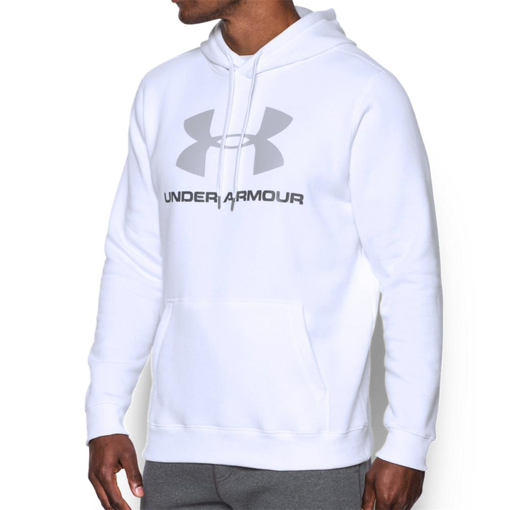 Under-Armour-Rival-Fleece-Fitted-Graphic-Hoodie-Sweatshirt-Kapuzenpullover-Pulli Indexbild 5