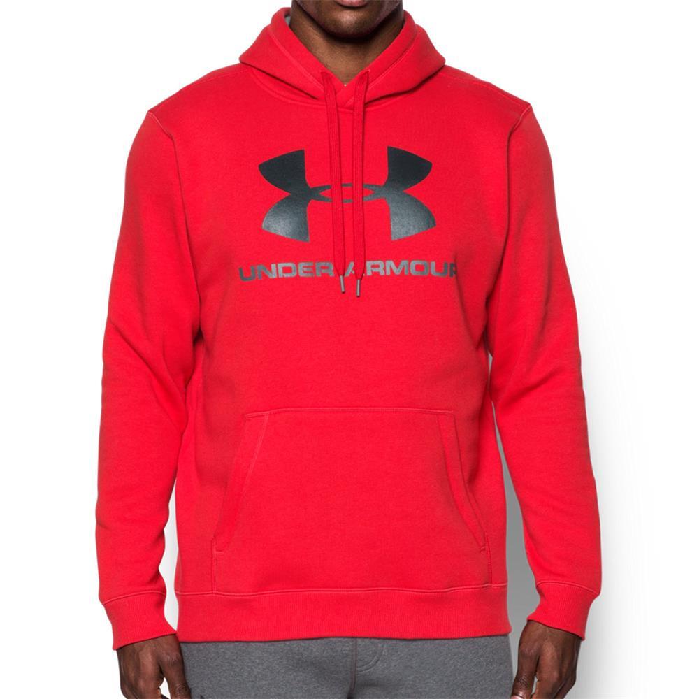 Under-Armour-Rival-Fleece-Fitted-Graphic-Hoodie-Sweatshirt-Kapuzenpullover-Pulli Indexbild 9