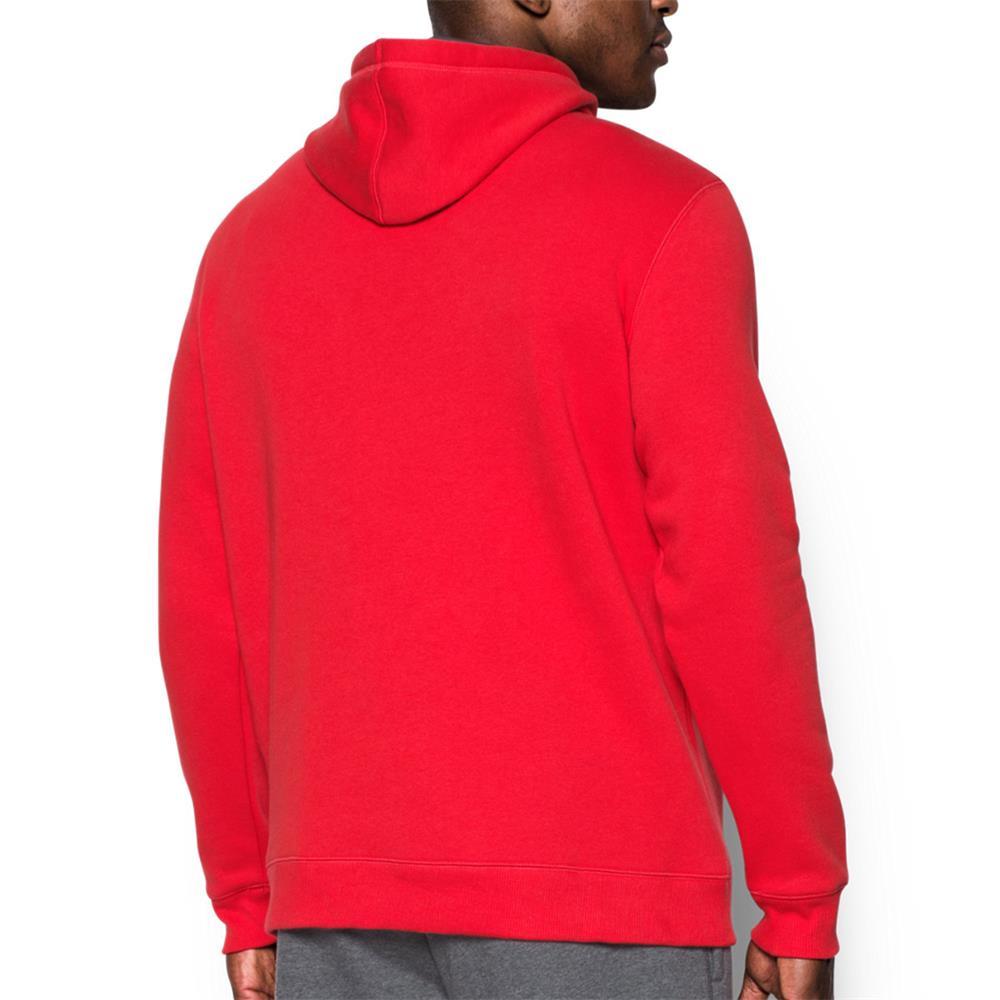 Under-Armour-Rival-Fleece-Fitted-Graphic-Hoodie-Sweatshirt-Kapuzenpullover-Pulli Indexbild 11