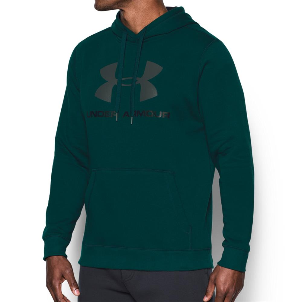 Under-Armour-Rival-Fleece-Fitted-Graphic-Hoodie-Sweatshirt-Kapuzenpullover-Pulli Indexbild 10