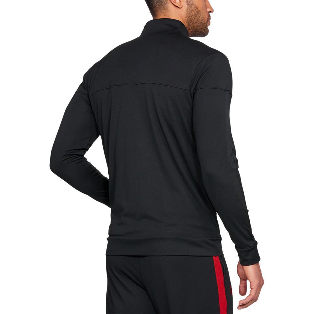 Under-Armour-UA-Sportstyle-Pique-Jacke-Trainingsjacke-Sweatjacke-Sportjacke Indexbild 5