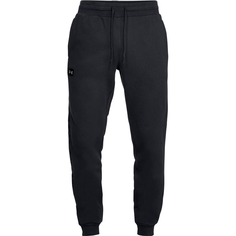 Under-Armour-ColdGear-Rival-Fleece-Script-Trainingshose-Jogginghose-Sport-Hose Indexbild 13