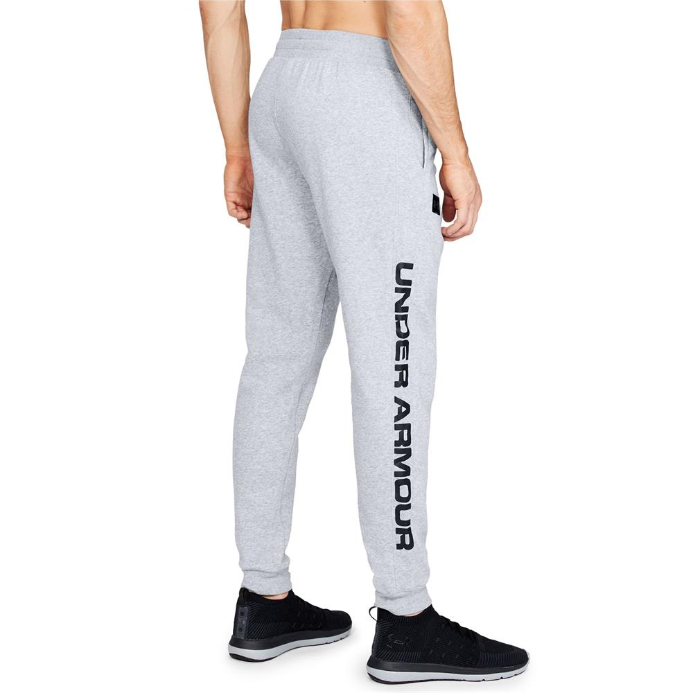 Under-Armour-ColdGear-Rival-Fleece-Script-Trainingshose-Jogginghose-Sport-Hose Indexbild 7